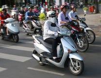 Hanoi rush hour Royalty Free Stock Photo