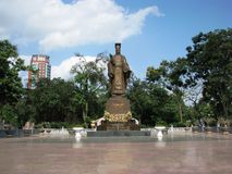 Hanoi-Statue Lizenzfreies Stockfoto