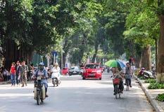 Hanoi town in autumn Stock Image
