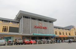 Hanoi Train station Vietnam Royalty Free Stock Photos