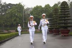 HANOI - Vakt av heder Royaltyfria Foton