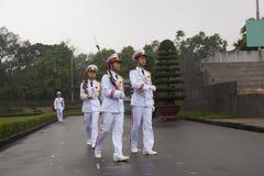 HANOI - Vakt av heder Arkivbilder