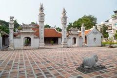 Hanoi, Vietnam - circa September 2015: Dinh Ngoc Ha temple in Hanoi,  Vietnam Royalty Free Stock Image