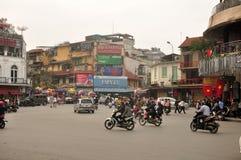 Hanoi Vietnam City view Royalty Free Stock Photography