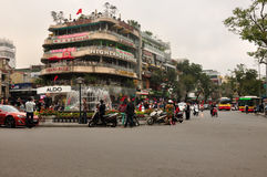 Hanoi Vietnam City view Royalty Free Stock Photo