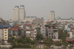 Hanoi Vietnam City view Royalty Free Stock Image