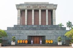 Hanoi, Vietnam - Jan 20 2015: Ho Chi Minh Mausoleum. a famous Hi Royalty Free Stock Photos