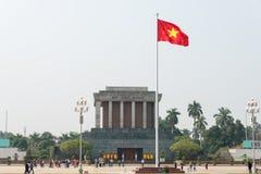 Hanoi, Vietnam - Jan 20 2015: Ho Chi Minh Mausoleum. a famous Hi Stock Images