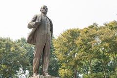 Hanoi, Vietnam - 20 Januari 2015: Standbeeld van Lenin in Hanoi, Vietnam Stock Afbeelding