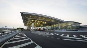 Hanoi, Vietnam - 12. Juli 2015: Noi Bai International Airport, der größte Flughafen in Nord-Vietnam, hat offiziell ein Ne geöffne Stockfotos