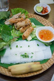 Hanoi, Vietnam Mar 13:: local food in Vietnam on March 13, 2015 Stock Photography