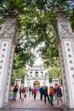 Hanoi, Vietnam Mar 12:: Van Mieu or Temple of Literature is Coll Stock Photography