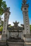 Hanoi Vietnam Quan Thanh Pagoda - Hanoi, Vietnam det är en berömd turist- destination i hanoi, Vietnam Royaltyfri Fotografi