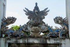Hanoi Vietnam Quan Thanh Pagoda - Hanoi, Vietnam det är en berömd turist- destination i hanoi, Vietnam Arkivbilder