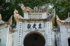 Hanoi vietnam Quan Thanh Pagoda - Hanoi, Vietnam.it's a famous tourist destination in hanoi, vietnam Stock Images
