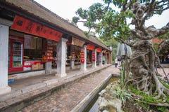 Hanoi, Vietname o 12 de março:: Van Mieu ou o templo da literatura são Coll Imagem de Stock