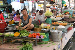 Hanoi Wet Market Stock Photography