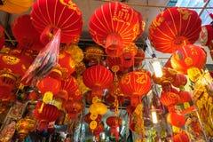 Hanoi Wietnam, Jan, - 26, 2017: Tet festiwalu lampiony w zrozumienia Ma ulicie, stara ćwiartka, Hanoi, Wietnam zdjęcia stock