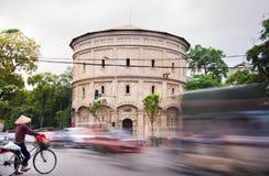 HANOI WIETNAM, MAJ, - 24, 2017: Hanoi wieży ciśnień budynek z b Obrazy Stock