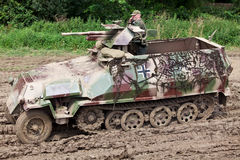 Hanomag in mud Stock Photography