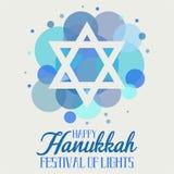 Hanoucca, festival des lumières photos libres de droits