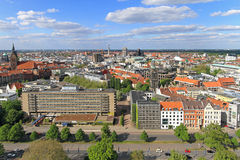 Hanover aerial Stock Photo