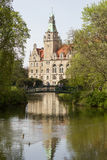 Hanover city-hall. Germany hannover old Royalty Free Stock Images