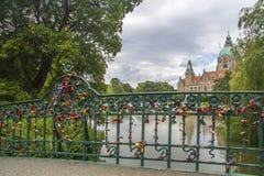 Hanover, Duitsland Stock Foto