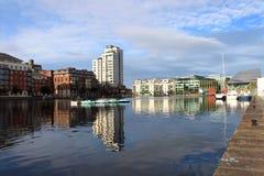 Hanover Quay Dublin Stock Image