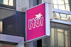 Hanovre/Allemagne - 11/13/2017 - une image d'un l logo de tur de ` Photos stock