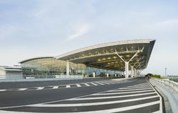 Hanoï, Vietnam - 12 juillet 2015 : Noi Bai International Airport, le plus grand aéroport au Vietnam du nord, a officiellement ouv Photos libres de droits
