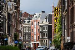 The Hans Brinker hotel, Amsterdam Stock Photography