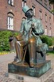 Hans Christian Andersen Stockbild