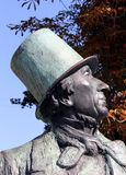 Hans Christian Andersen Foto de Stock Royalty Free