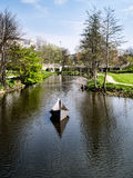 Hans Christian Andersen fairytale garden in Odense, Denmark Stock Photography