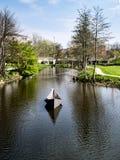 Hans Christian Andersen fairytale garden in Odense, Denmark Stock Photography