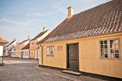 Hans Christian Andersen House Stock Photography