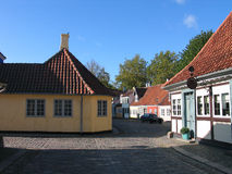 Hans Christian Andersen house stock image