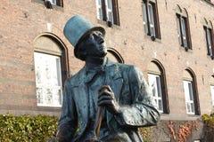 Hans Christian Andersen - Kopenhagen lizenzfreie stockfotos
