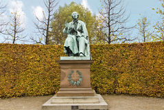 Hans Christian Andersen monument Stock Afbeeldingen
