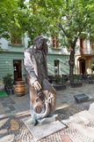 Hans Christian Andersen Statue In Bratislava, Slovakia.