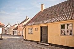 Hans- Christian Andersenhaus Stockfotografie