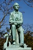 Hans Christian Anderson Statue Photo stock