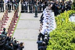 Hans majestätkonung Bhumibol Adulyadej royaltyfria foton