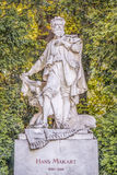 Hans Makart bust in Stadtpark, Vienna Royalty Free Stock Photo