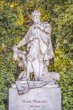 Hans Makart byst i Stadtpark, Wien Royaltyfri Foto