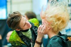 hans model stylist Fotografering för Bildbyråer