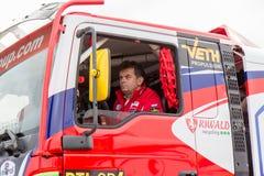 Hans Stacey στο φορτηγό του Ντακάρ Στοκ Εικόνες