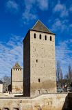 Hans von Altenheim and Henry Towers (1230). Strasbourg, France. Hans von Altenheim Tower and Henry Tower (circa 1230). Small France block, Strasbourg (UNESCO Stock Photography