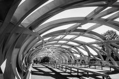 Hans Wilsdorf Bridge in Geneva, Switzerland. Stock Photos